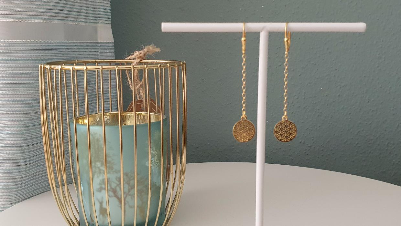 ohrring-mit-kette-925-silber-vergoldet